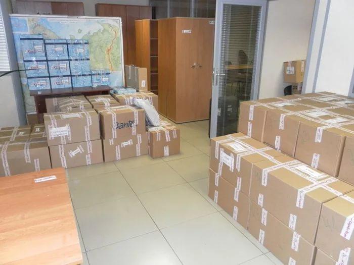 Переезд офиса в Ростове