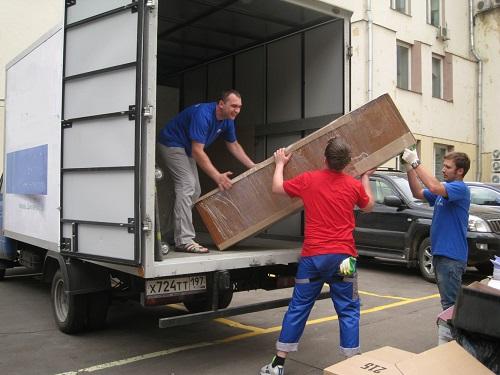 Заказать переезд с грузчиками