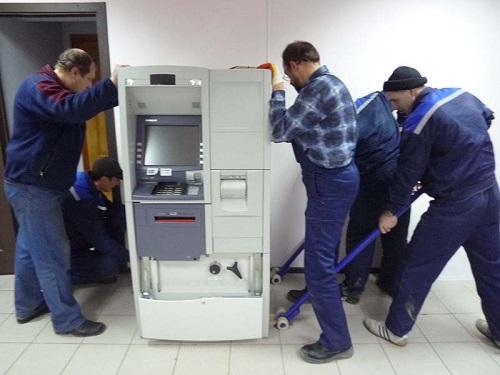 Такелажные работы - перевозка и перемещение банкоматов